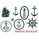 Marine and Nautical Heraldic Elements - GraphicRiver Item for Sale