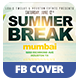 Summer Break | Facebook Cover - GraphicRiver Item for Sale