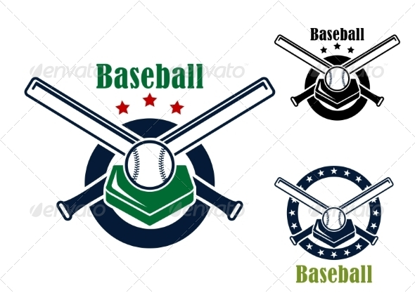 GraphicRiver Baseball Emblems 8320006