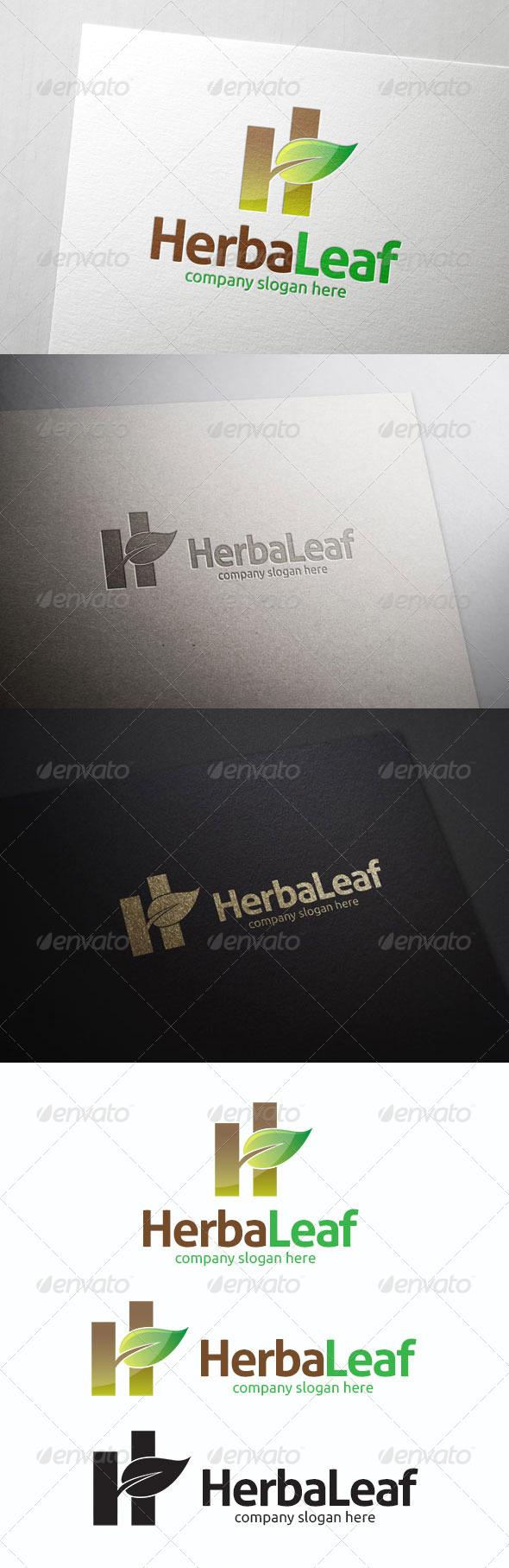 GraphicRiver Herbaleaf Logo 8320037