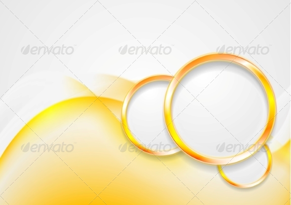 GraphicRiver Abstract Waves and Circles 8320083