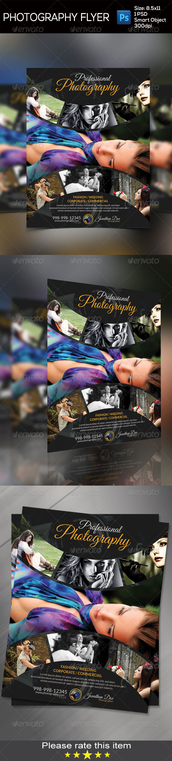 GraphicRiver Photography Flyer 8320091
