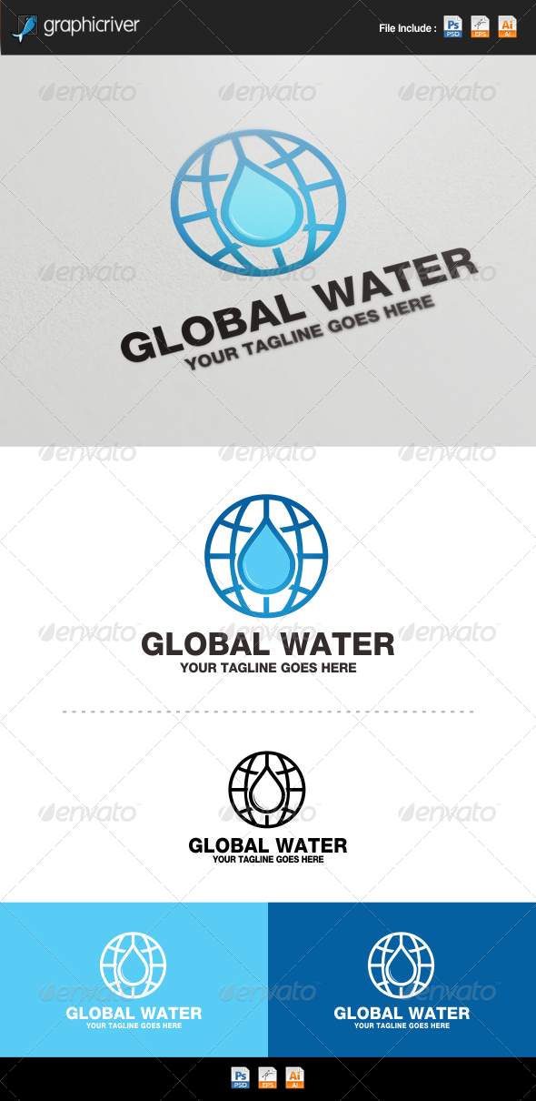 GraphicRiver Global Water 8320154