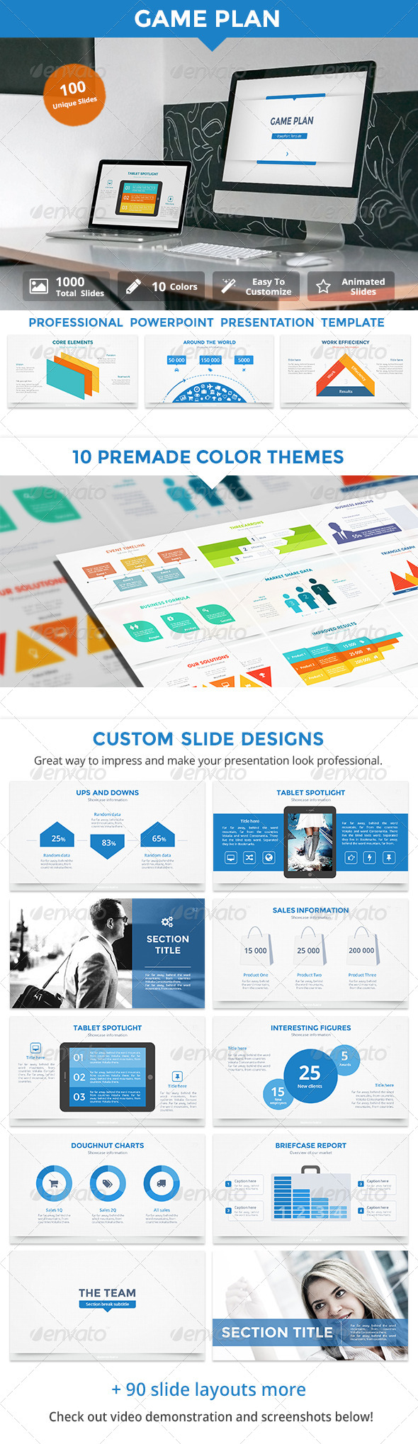 GraphicRiver Game Plan v2 PowerPoint Template 8320213