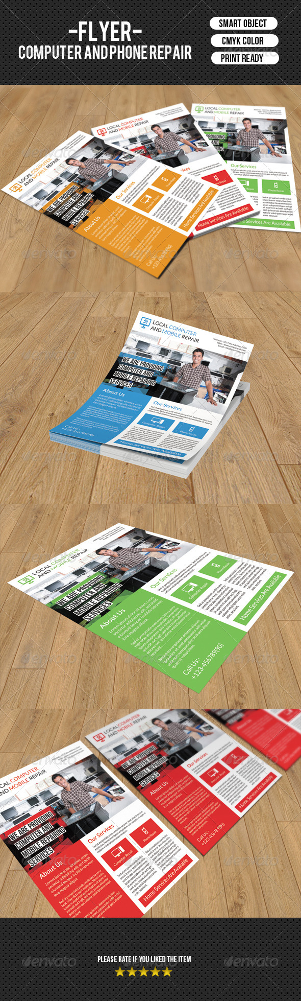 GraphicRiver Corporate Flyer Template-V90 8320262