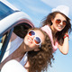 young attractive woman in sunglasses - PhotoDune Item for Sale