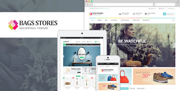 BagsStore - Multiple Opencart Themes  - Shopping OpenCart