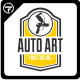 Auto Art Logo Templates - GraphicRiver Item for Sale
