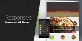 Restaurant Responsive WordPress Themes