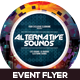 Alternative Sounds Event Flyer Design - GraphicRiver Item for Sale