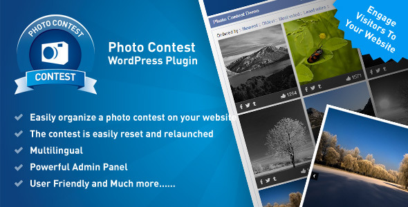 CodeCanyon Photo Contest Wordpress Plugin 8320636
