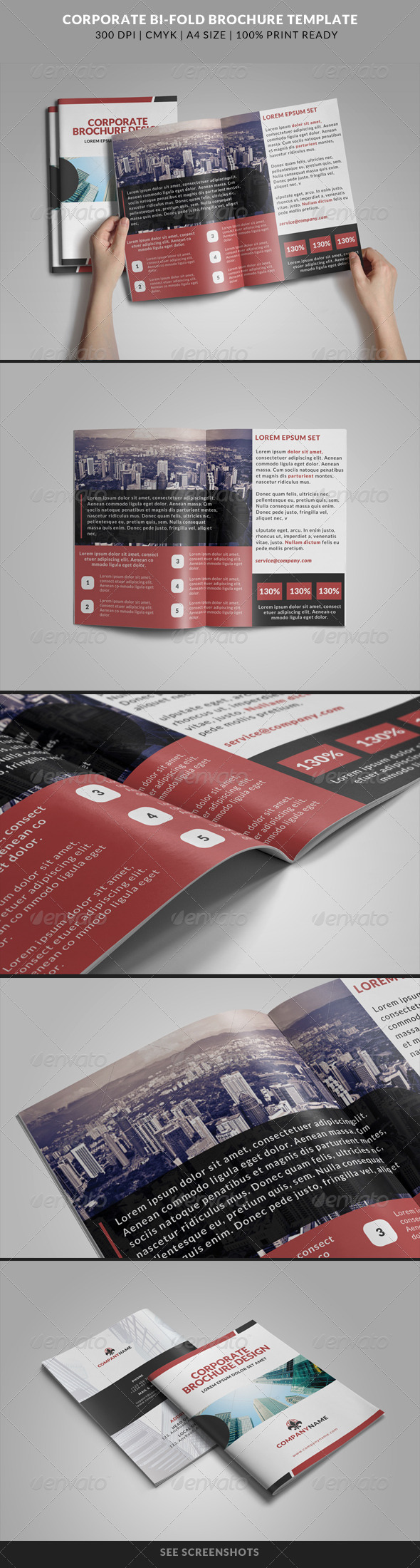 GraphicRiver Corporate Bi-Fold Brochures Template 11 8320638