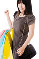 Chinese woman holding shopping bags. - PhotoDune Item for Sale
