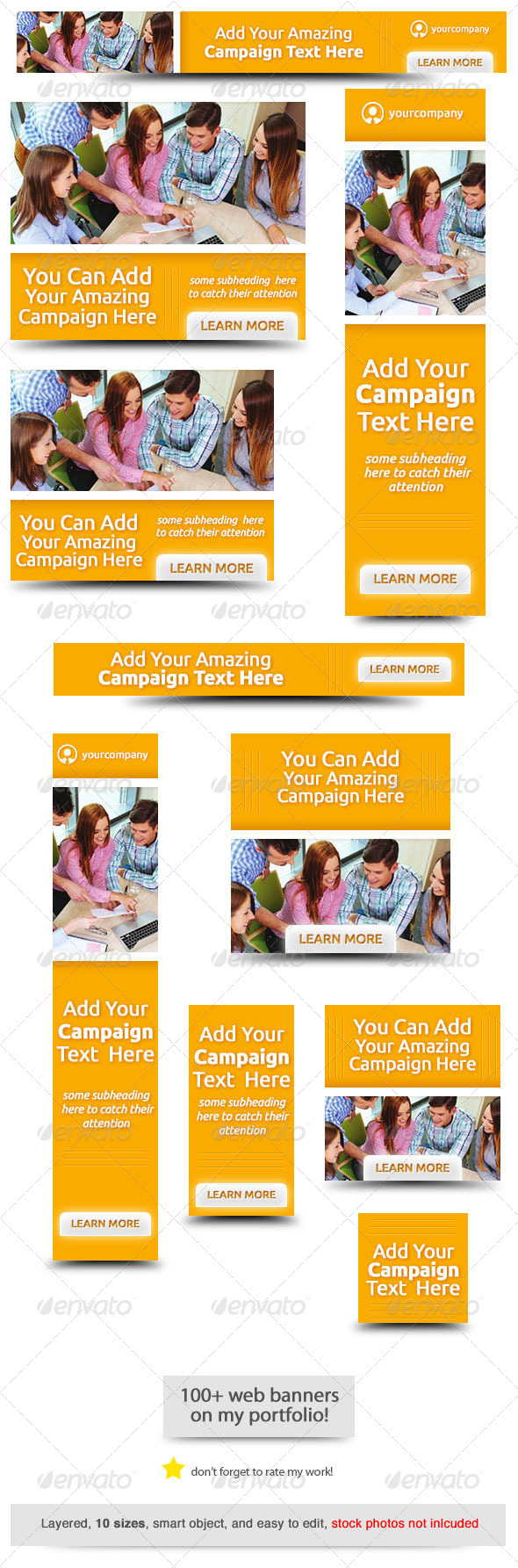 GraphicRiver Team Web Banner Design 8320964