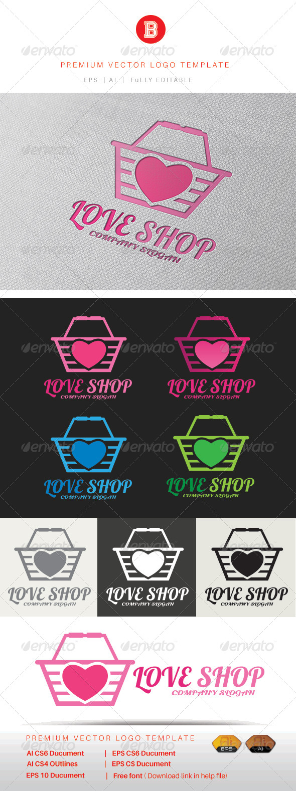 GraphicRiver Love Shop 8321048