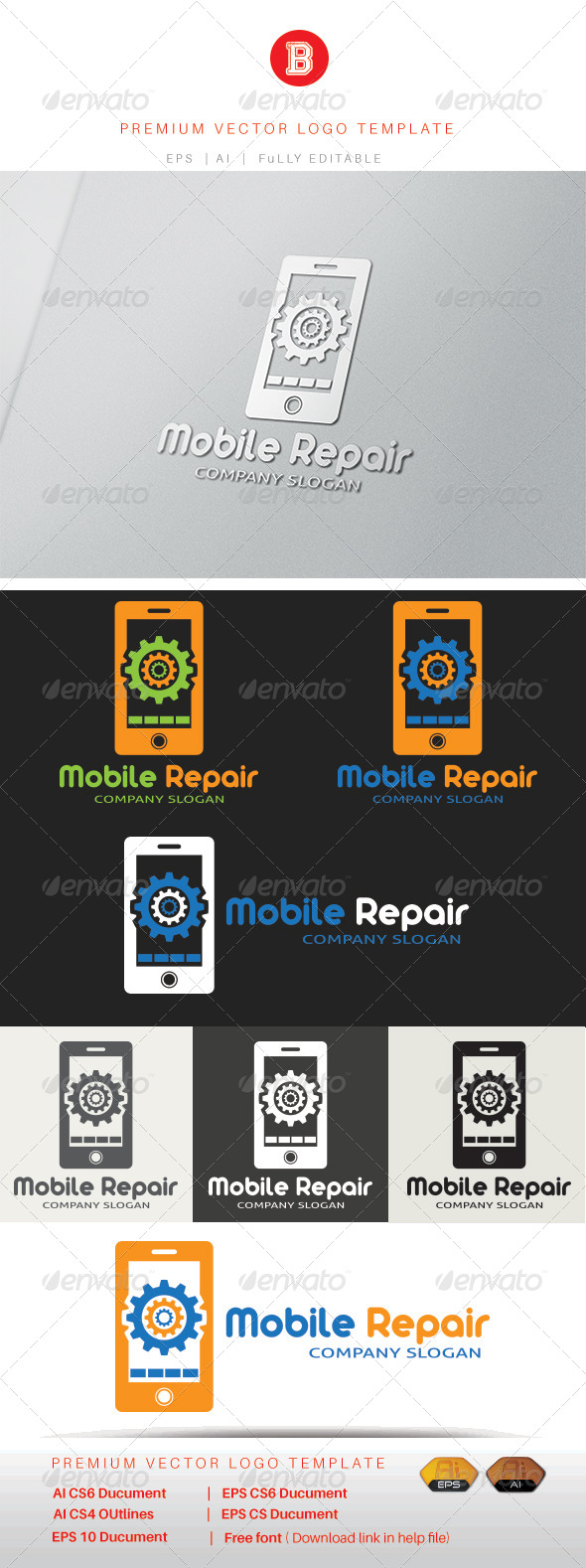 GraphicRiver Mobile Repair 8321057