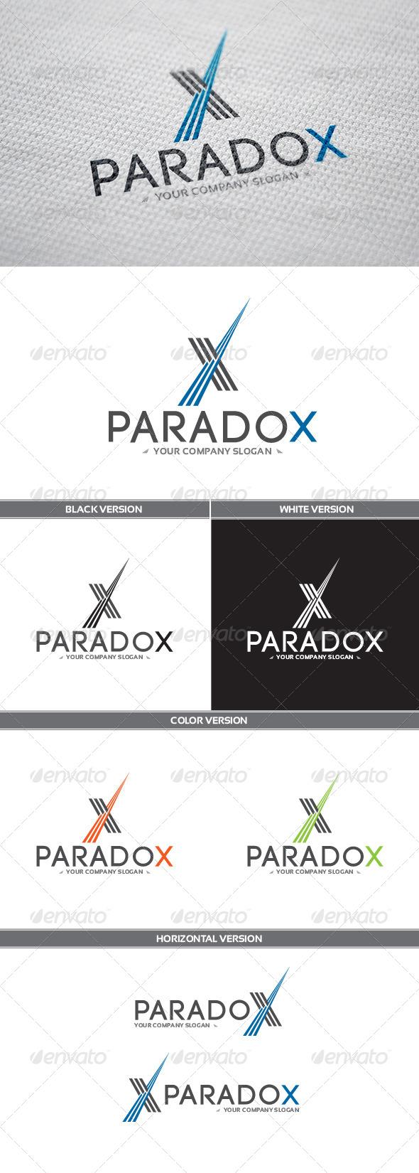GraphicRiver ParadoX Logo 8321062