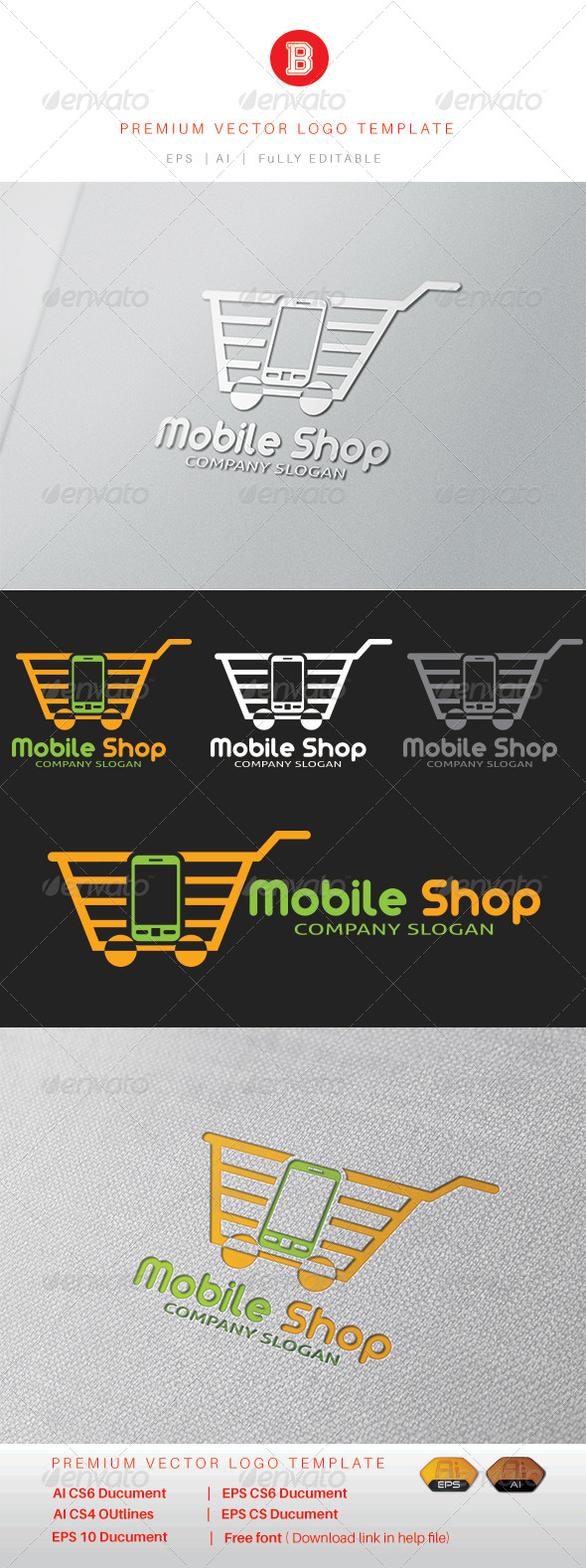 GraphicRiver Mobile Shop 8321065