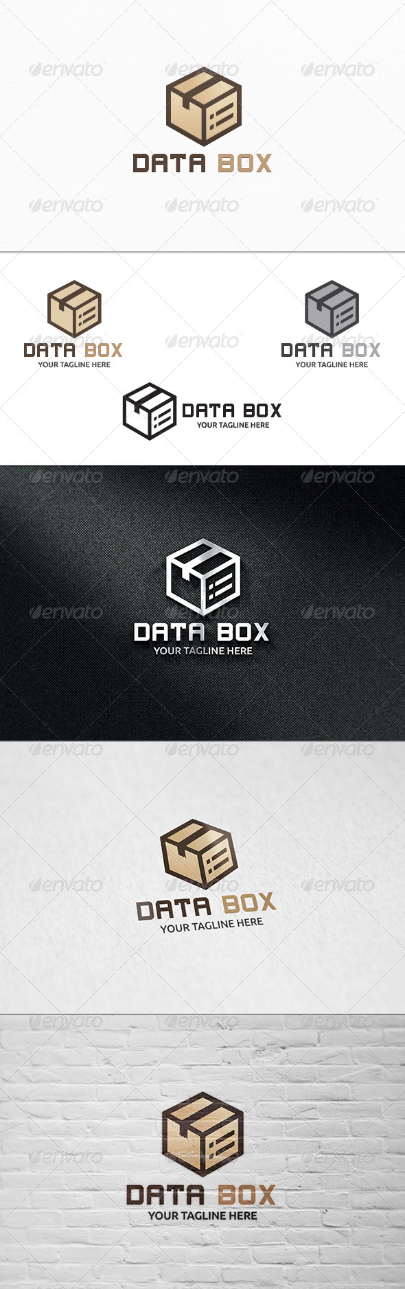 GraphicRiver Data Box Logo Template 8321113