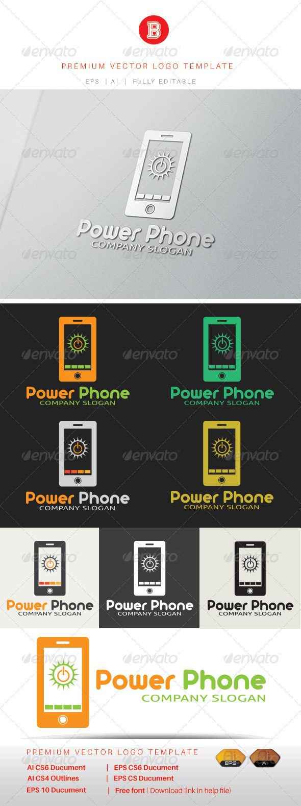 GraphicRiver Power Phone 8321116