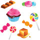 Sweets Set - GraphicRiver Item for Sale
