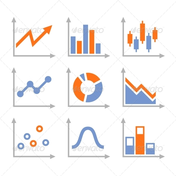 GraphicRiver Simple Set of Diagram and Graphs 8321474
