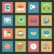 Marketing Flat Icons Set - GraphicRiver Item for Sale