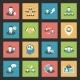 Interaction Icons Set - GraphicRiver Item for Sale