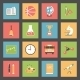 School Flat Icons Set - GraphicRiver Item for Sale