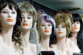 Several female mannequins with wigs  - PhotoDune Item for Sale