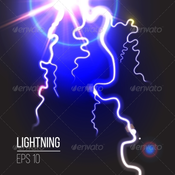 GraphicRiver Electric Lighting 8322069