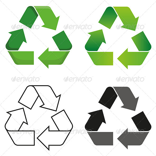 GraphicRiver Recycle Symbol 8322398