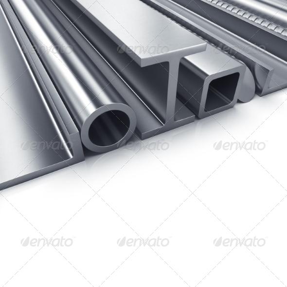 GraphicRiver Rolled Metal Products 8322913