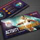 Sport Activity Gift Voucher V17 - GraphicRiver Item for Sale