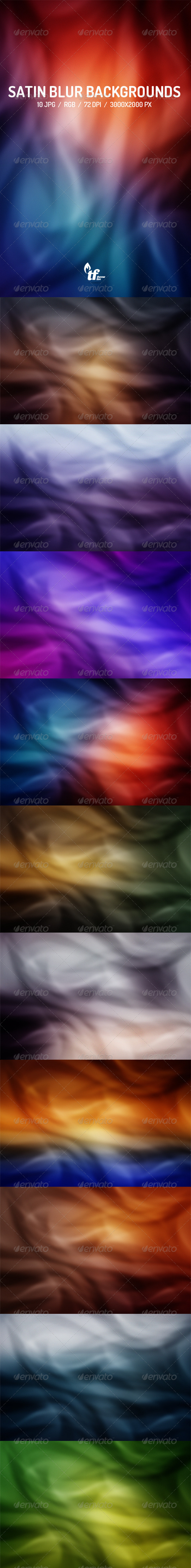 GraphicRiver Satin Blur Backgrounds 8323103