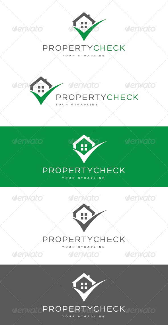 GraphicRiver Property Check Logo 8323109