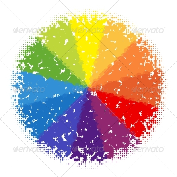GraphicRiver Color Wheel 8323179