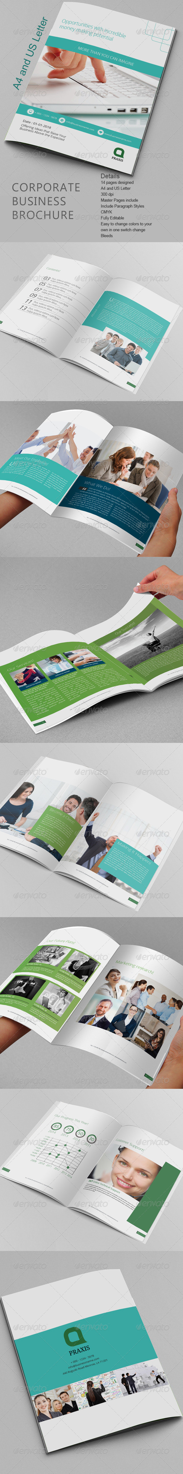 GraphicRiver Corporate Business Brochure 8323481