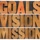 goals, vision and mission - PhotoDune Item for Sale