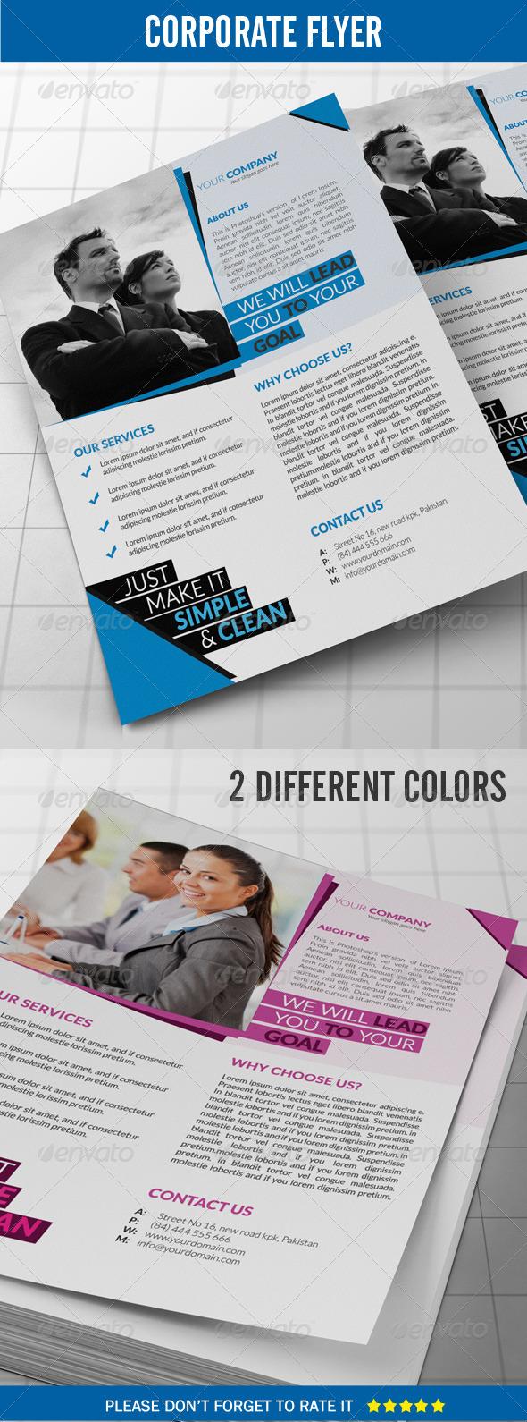 GraphicRiver Corporate Flyer 8323786