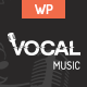 Vocal - Music Event WordPress Theme - ThemeForest Item for Sale