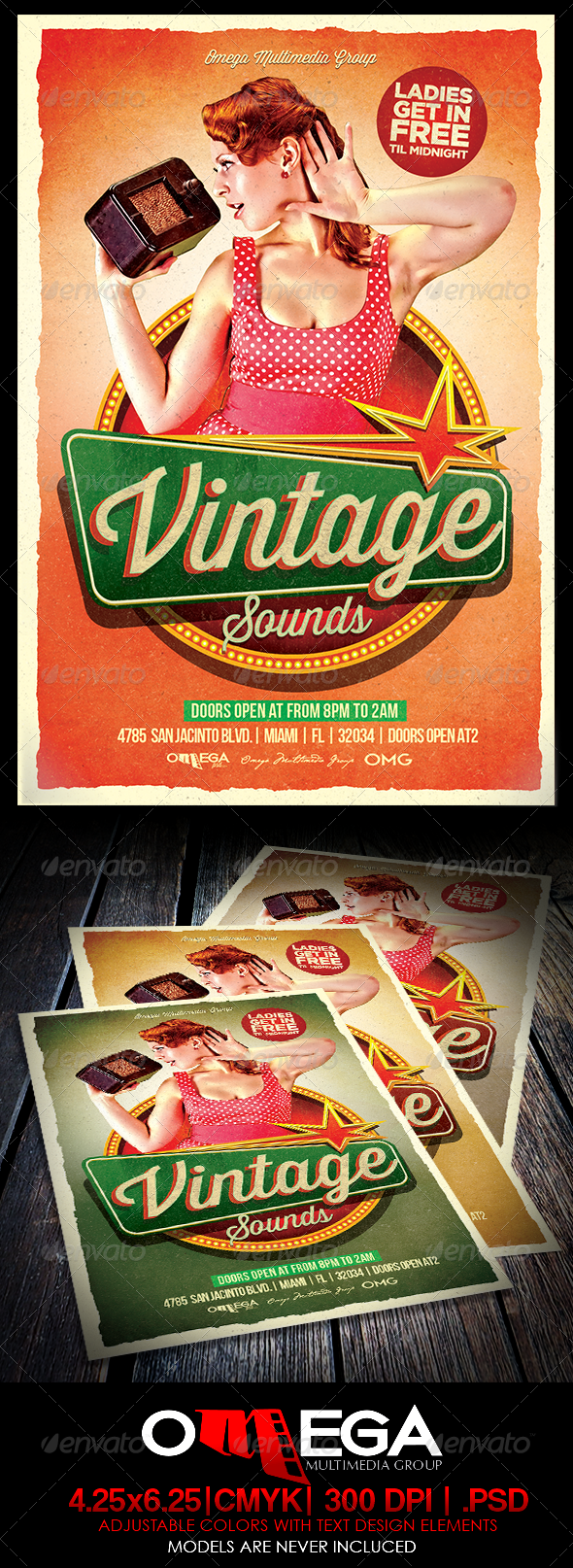 GraphicRiver Vintage Sounds 8294862
