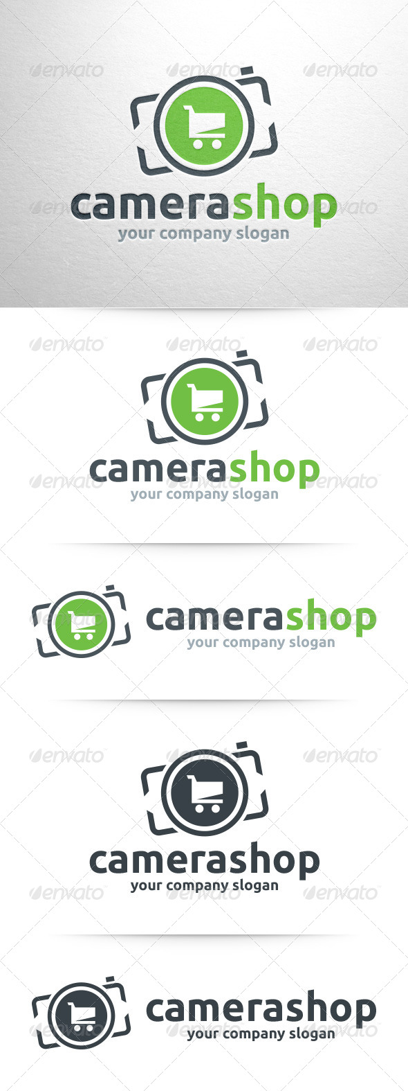 GraphicRiver Camera Shop Logo Template 8324150