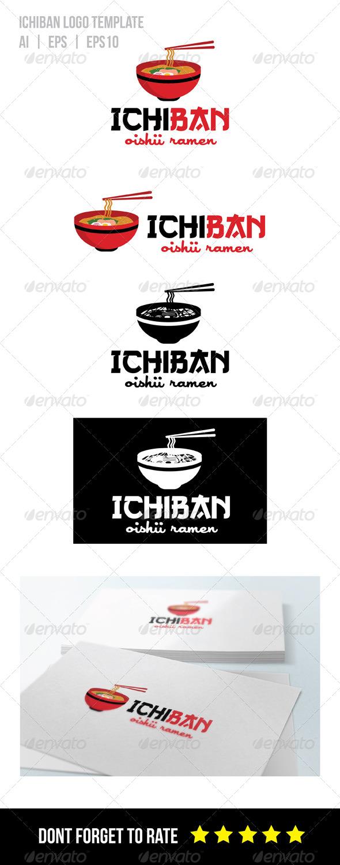 GraphicRiver Ramen Restaurant Logo Template 8324440