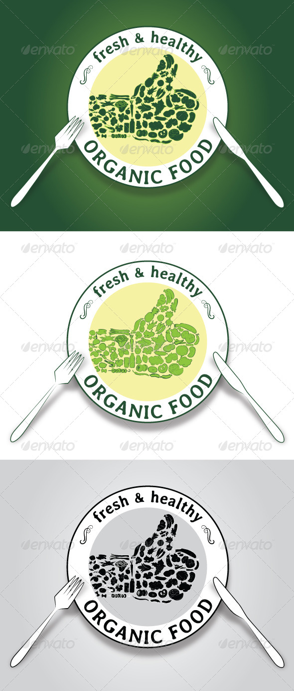 GraphicRiver Organic Food 8324648