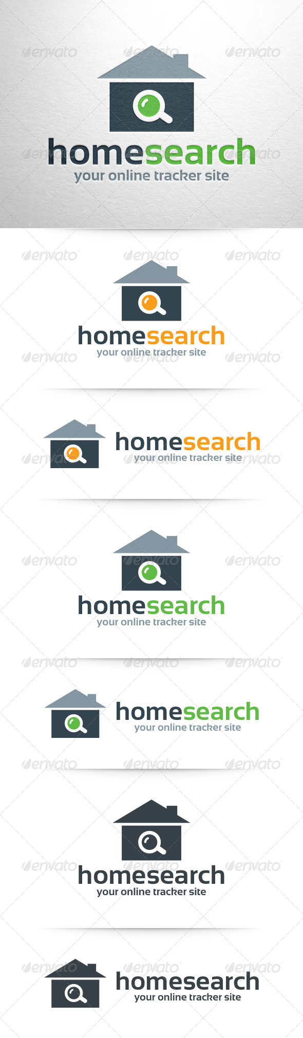 GraphicRiver Home Search Logo Template 8324697