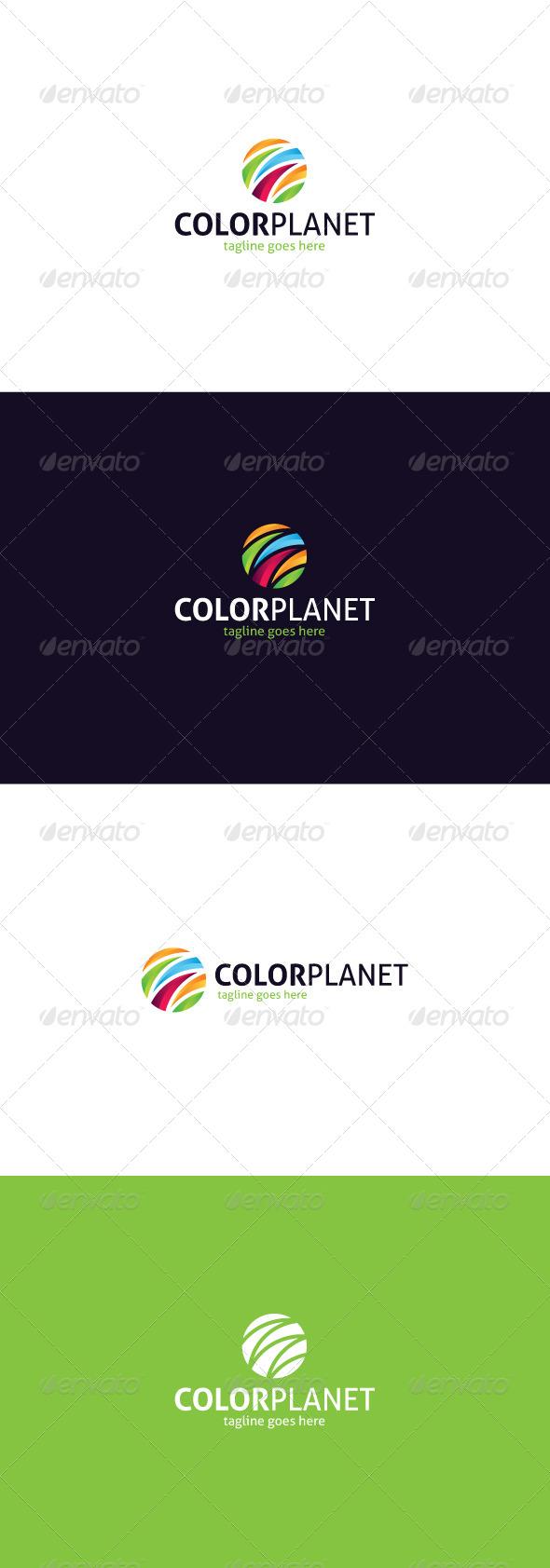 GraphicRiver Color Planet Logo 8324953