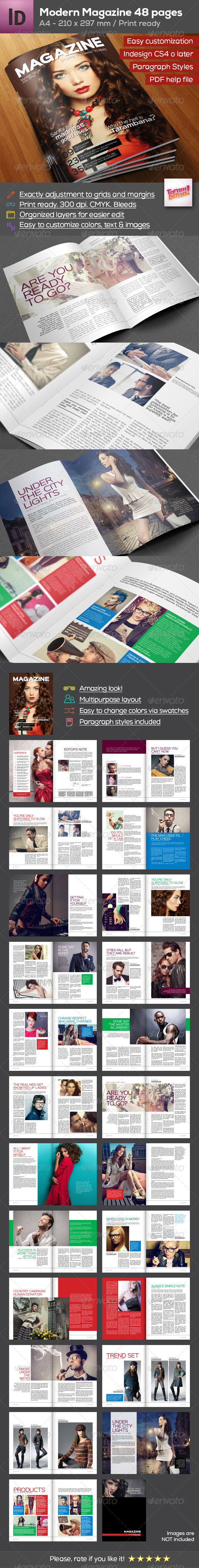 GraphicRiver Professional Magazine A4 8325046