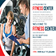 Fitnes Center Postcard Template - GraphicRiver Item for Sale