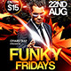 Funky Fridays Flyer Template - GraphicRiver Item for Sale